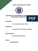 Compostaje Maestria Chiclayo Jorge Veliz
