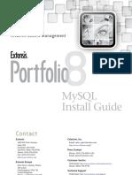 Portfolio8 Installing MySQL