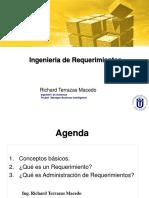 ING. DE REQUERIMIENTOS