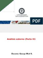 Analisis Externo III