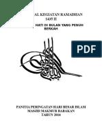 Proposal Kegiatan Ramadhan