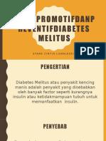 Upaya Promotif dan Preventif Diabetes Melitus