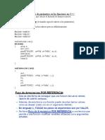 Envio de Parametros y Variables