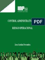 Control Admin Riesgo Opera c Ional