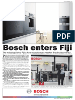 Bosch Home Appliances Launching  at Prouds Nadi
