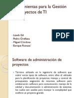 Herramientas Para La Gestión de Proyectos de TI