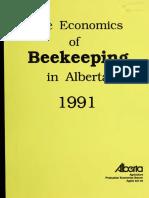 The economics Beekeeping in Alberta