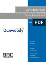 Dunwoody Parks & Rec Master Planning Survey Results_FINAL REPORT-5!25!16