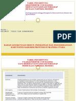 Tabel Karakteristik Unsur Kimia Yang Bersifat Kontaminasi Terhadap Permukaan Partikel Sedimen