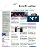 Bright Green Newsletter, April 2010 ~ UC Berkeley Office of Sustainability