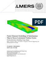 Finite Element Modelling of Interlaminar