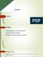 Direccionamiento IPv4 - Subneting