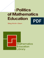 Mellin - the Politics of Mathematics Education