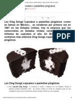 Los Ding Dongs Cupcakes o Pastelitos Pingüinos - Blog de Cupcakes _ Blog de Cupcakes