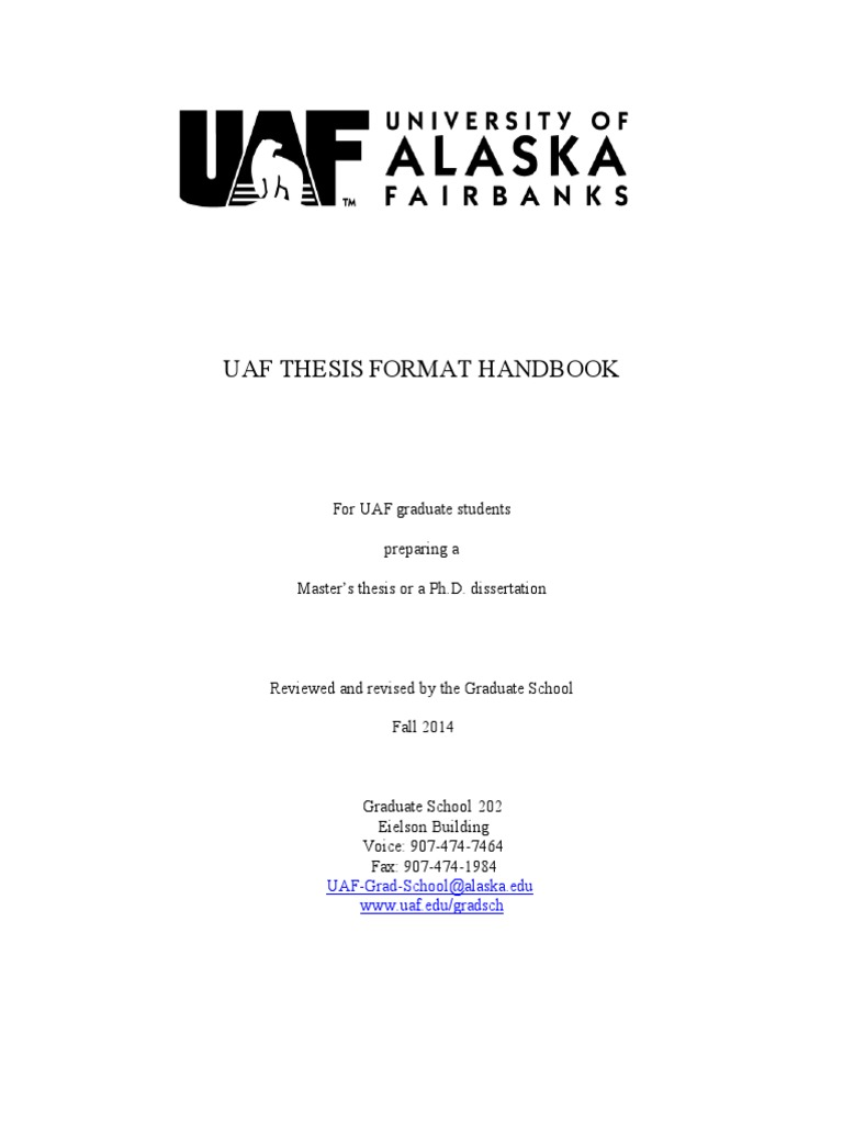uaf thesis completion grant
