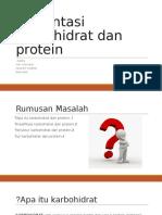 Presentasi Karbohidrat Dan Protein