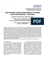 Biocolorants and Its Implications in Health