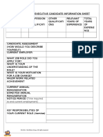 Executive Candidate Information Sheet 2016