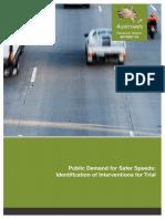 AP-R507-16 Public Demand for Safer Speeds