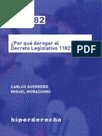 ¿Por qué derogar el Decreto Legislativo 1182?
