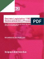 Decreto Legislativo 1182, Geolocalización y Proceso Penal