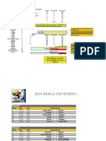 World Cup Predictions - South Africa Entry Template
