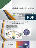 Variabilidad Climatica y Perspectiva Climatica 2016