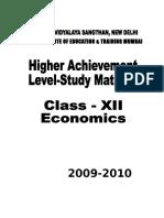 Revised Study Material - Economics Chandigarh