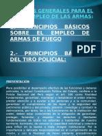 Normas Generales Para El Empleo de Las Armas