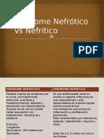SINDROME NEFROTICOVS NEFRITICO