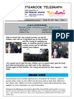 Newsletter 26th May