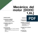 Mecanica Del Motor DOHC 1.6L