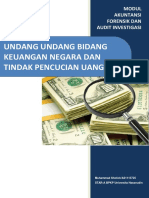 Modul Tindak Pidana Pencucian Uang dan Hukum Keuangan Negara