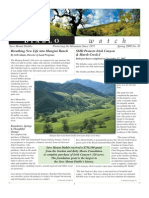 Diablo Watch Newsletter, Spring 2008 ~ Save Mount Diablo