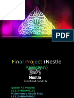 Nestle (Strategy Project) Slides