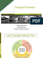Public Transport Promotion