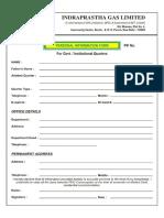 Indraprastha Gas Limited Form