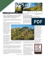 Z-Diablo Watch Newsletter, Spring-Summer 2009 ~ Save Mount Diablo