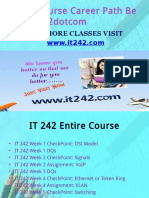 IT 242 Course Career Path Begins It242dotcom
