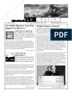 Diablo Watch Newsletter, Spring 2002 ~ Save Mount Diablo