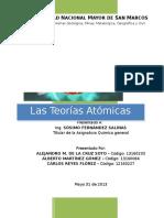 Las Teorías Atómicas
