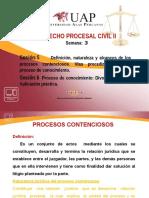 3. PROCESOS CONTENCIOSOS Y PROCESO DE CONOCIMIENTO. DIVORCIO Y CAUSAL. APLICACIÓN PRÁCTICA.pptx