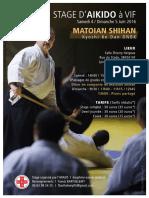 06/2016 Aikido Seminar Grenoble