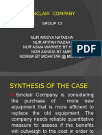 Sinclair Company Group Case Study