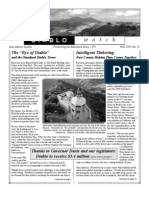 Diablo Watch Newsletter, Fall 2003 ~ Save Mount Diablo