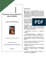 Carlos Lanz Rodríguez-Propuesta anticapitalista