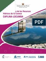 Plan de Gestión de Los Recursos Hídricos de La Cuenca Caplina-locumba