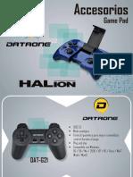 Catalogo Accesorios Game Pad