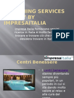 Searchin Services in Italy by Impresaitalia
