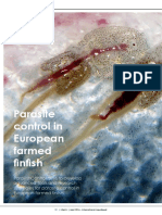 Parasite control in European farmed  finfish